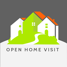 Open Home Visit Icon